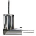 Совок для сыпучих продуктов 190 мм 1250г нерж. Linden /1/