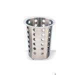 Емкость для столовых приборов (стакан) d=95 мм. h=130 мм. перфор. нерж. MGSteel /1/6/48/