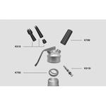 Набор насадок с адаптером д/сифона (кремера) Inoxcreamer (K515)