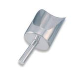 Совок для сыпучих продуктов 252 мм 1500г нерж. MGSteel /1/24/