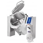 Котел пищеварочный опрокидывающийся КПЭМ-250-ОМ2 с миксером и сливным краном (250 л, 120°С, пар.рубашка, програм управл, цельнотянутый сосуд)