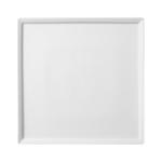 Блюдо квадратное плоское Flat 25,4см