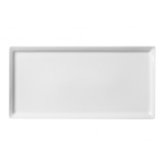 Тарелка прямоугольная плоская Flat 28х14см
