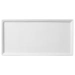 Тарелка прямоугольная плоская Flat 34,5х17см