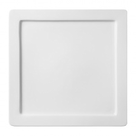 Тарелка квадратная Flat Rim 28см