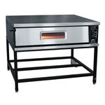 Печь электрическая для пиццы ПЭП-6-01 с крышей краш.
