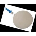 Поднос круглый d=37 см. для пиццы  с пластик. ручкой Gimetal /1/2/**