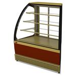 Витрина холодильная Veneto VS-UN, крашенная (угол наружный), раздвижная дверь