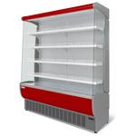Витрина холодильная Флоренция ВХСп-1,6 (красная)