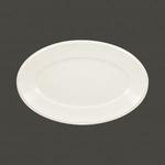 Тарелка овальная 38х24.5 см., плоская Anna