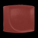 Тарелка прямоугольная 32х29 см., плоская NeoFusion Magma