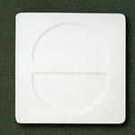 "SPFN30 Тарелка ""Fennel"" квадрат. 30х30 см., плоская AllSpice"
