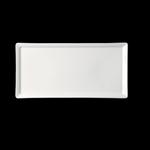 "SPRP28 Тарелка ""Wasabi"" прямоугольная 28х14 см., плоская AllSpice"