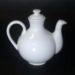 ACOV01 Емкость в виде чайничка 20 cl., для масла или уксуса, фарфор, Minimax