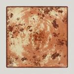 EDSQ27PBR Тарелка квадратная 27 см., плоская Peppery