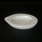 MNLN01 Емкость для лимона овальная 13.5х8см., cl., фарфор, Minimax