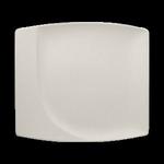 NFMZSP32WH Тарелка прямоугольная 32х29 см., плоская NeoFusion Sand