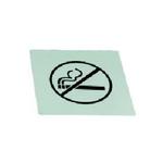 """Табличка """"No Smoking"""" , нерж. MGSteel /1/100/"""