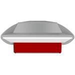 Прилавок 2629 Илеть УН расчетно-кассовый неохлаждаемый (синий)