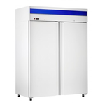 Шкаф холодильный ШХс-1,4 краш. (1485х820х2050) t 0...+5°С, нижн.агрегат, авт.оттайка, мех.замок, ванна выпаривания конденсата