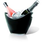 Ведро для шампанского пласт. 3 л для 2-х бутылок VB /1/6/