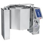 Котел пищеварочный опрокидывающийся КПЭМ-350 ОМ2 с миксером и сливным краном