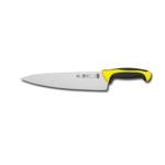 8321T60Y Нож кухонный поварской, L=23см., нерж.сталь,ручка пластик,вставка желтая