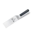 9200T07 Лопатка кондитерская - 15х7.6см., нерж.сталь,ручка- пластик,цвет черный