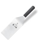 9200T21 Лопатка кондитерская - 21х10см., нерж.сталь,ручка- пластик,цвет черный
