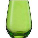 Стакан 397 мл, h 11,4 см, d 8,1 см, цвет зеленый, Vina Spots