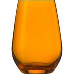 Стакан 397 мл, h 11,4 см, d 8,1 см, цвет янтарный, Vina Spots
