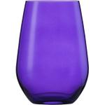 Стакан 566 мл, h 12,7 см, d 9 см, цвет сиреневый, Vina Spots