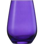 Стакан 397 мл, h 11,4 см, d 8,1 см, цвет сиреневый, Vina Spots