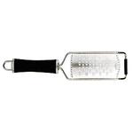 KL321GAE6 Терка профессиональная, 13х8 L=30см., нерж.сталь, ручка пластик, цвет черный