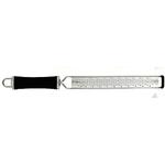 KL321GB007PE5 Терка профессиональная, 22х4 L=38см., нерж.сталь, ручка пластик, цвет черный