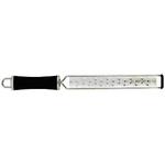 KL321GB007PE6 Терка профессиональная, 22х4 L=38см., нерж.сталь, ручка пластик, цвет черный