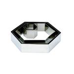 """Форма для выкладки/выпечки """"Шестиугольник"""" l=23,5*25,5 см h=5 см MGSteel"""