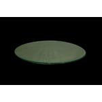 Блюдо круглое d=300 мм. прозр. стекло 3D