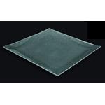 Блюдо квадратное l=300*300 мм. прозр. стекло 3D