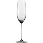 Бокал для шампанского/игристого вина 219 мл, h 25,3 см, d 7,2 см, Diva