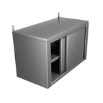 Полка-шкаф настенная сплошная закрытая ПНЗ-12*4