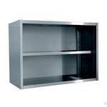 Полка-шкаф настенная для тарелок и кухонного инвентаря открытая ПТО-12*4