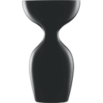 Ваза для дегустации, стеклянная, цвет: черный, h 33,9 см, d 19,7 см, Sensus