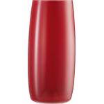 Ваза h 28,7 см d 13,3 см, цвет красный