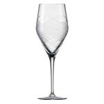 Бокал с рельефом для вина 358 мл, h 22,7 см, d 8 см, Hommage Comete