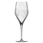 Бокал с рельефом для вина 358 мл, h 22,7 см, d 8 см, Hommage Glace