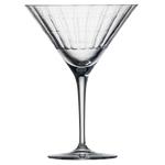 Бокал с рельефом для мартини 295 мл, h 16,9 см, d 12,3 см, Hommage Carat