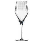 Бокал с рельефом для вина 358 мл, h 22,7 см, d 8 см, Hommage Carat