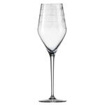 Бокал с рельефом для шампанского 269 мл, h 24 см, d 6,8 см, Hommage Carat