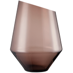 Ваза /подсвечник h 36 см d 27 см, цвет коричневый